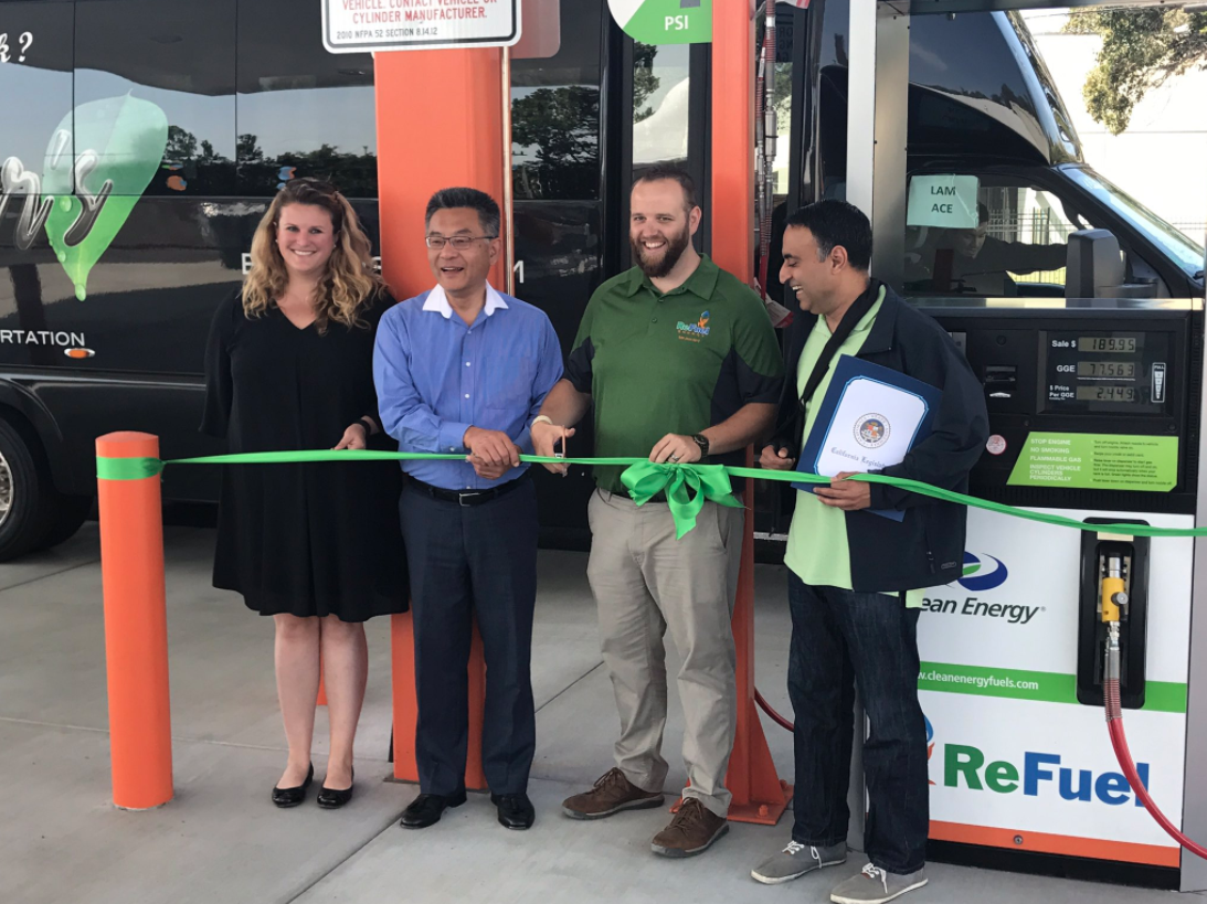 ReFuel Energy Partners announces the grand opening of a new Renewable Natural Gas Station in San Jose, CA.